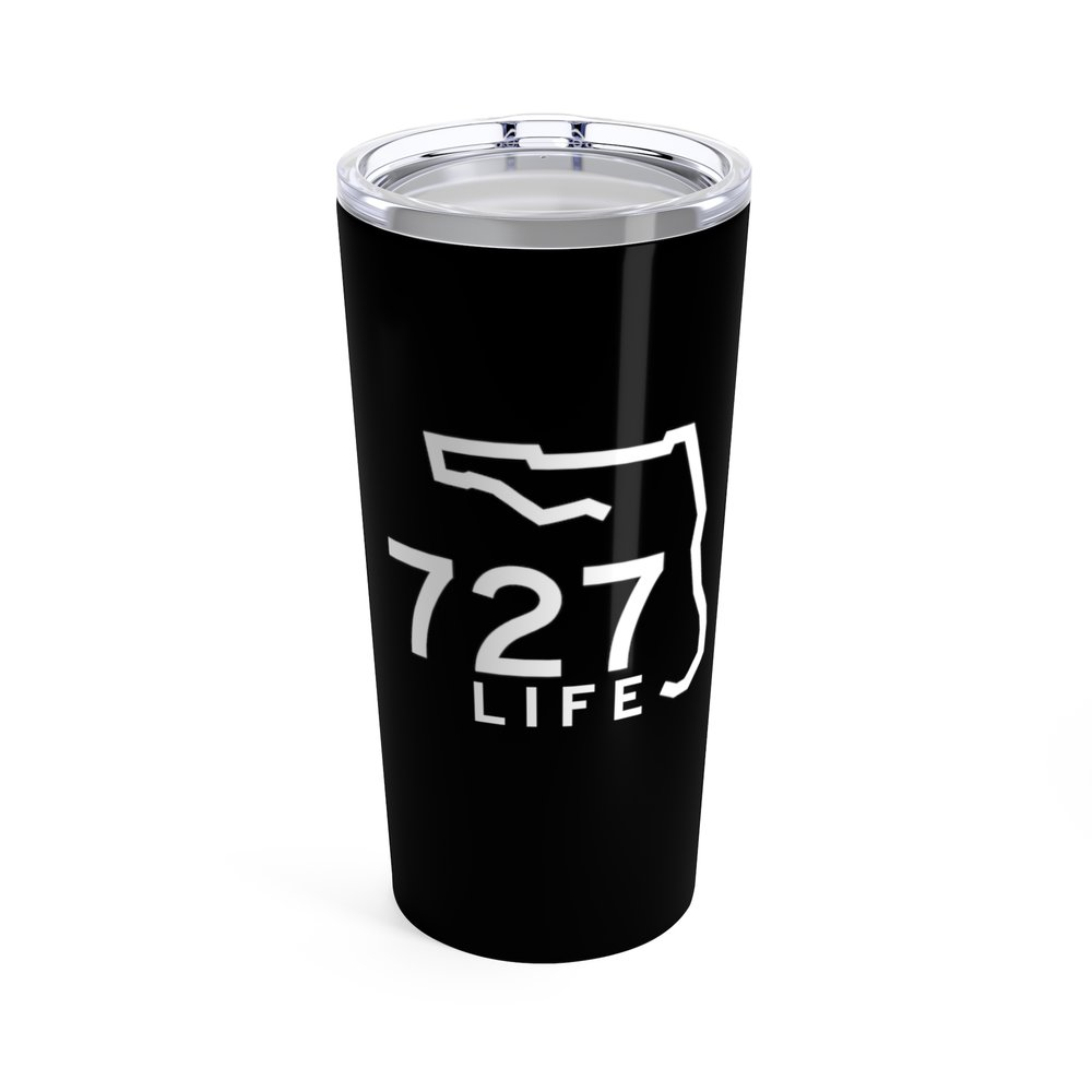 No one wants to look thirsty!!! That alone should be enough reason to grab one of these 727 Logo Tumblers. AVAILABLE IN TWO COLORS