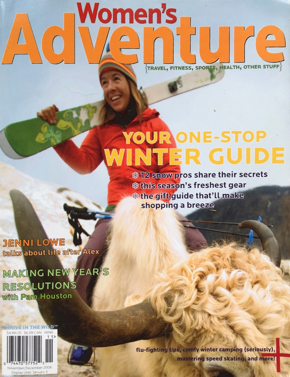 Forget Me Not  Jenni Lowe talks about life after Alex.   Women's Adventure, November 2006