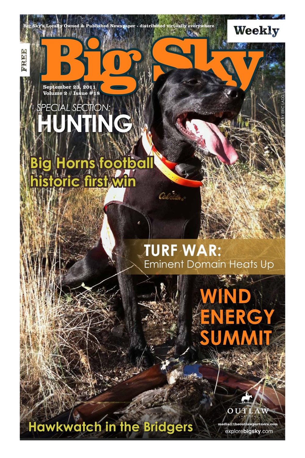 Turf War  Eminent domain law pits Montana landowners against growth and big business.  Big Sky Weekly, September 2011
