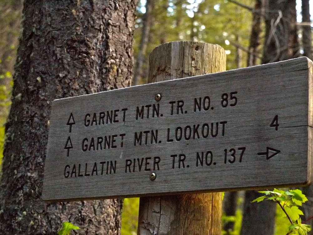 Garnet Mountain Lookout, Gallatin Canyon, Montana. (Photo by Emily Stifler Wolfe)