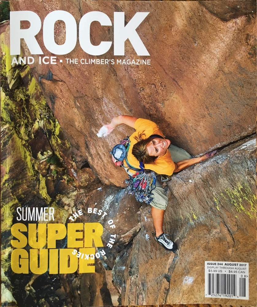 Backwater Bouldering  The endless blocs of Montana's Boulder Batholith.  Rock and Ice, August 2017