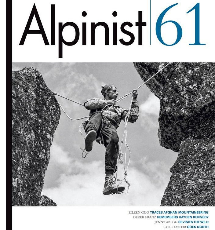 By the light of the moon    On childbirth and big walls.   Alpinist, Spring 2018