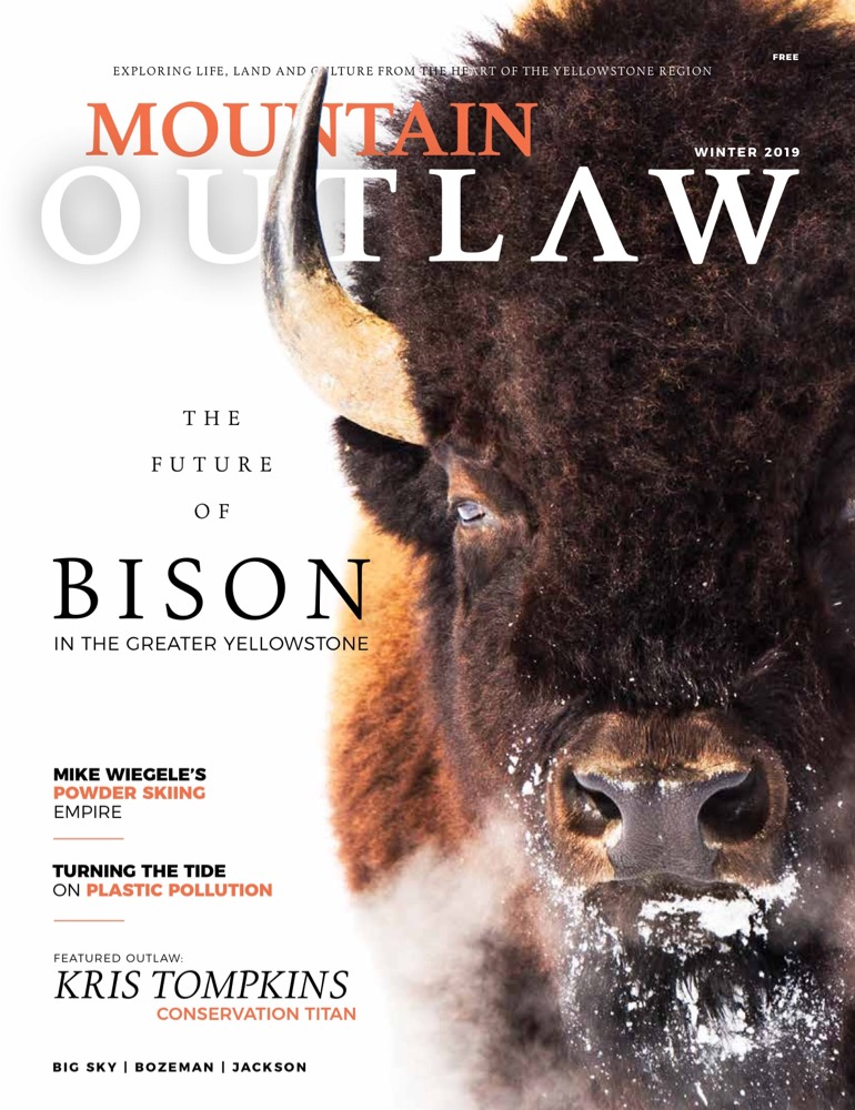 Rewilding Chile and Argentina   Kris Tompkins has protected 13 million acres, and she's not done yet.  Mountain Outlaw, Winter 2019