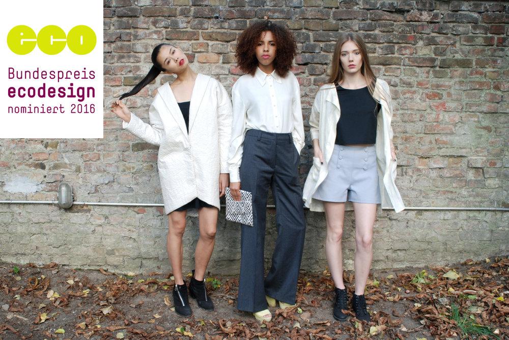 Design: Mayya Saliba | Photography: Roland Kunos | Models:Sayo Shiba, Sarah Seini,Clara Schubert