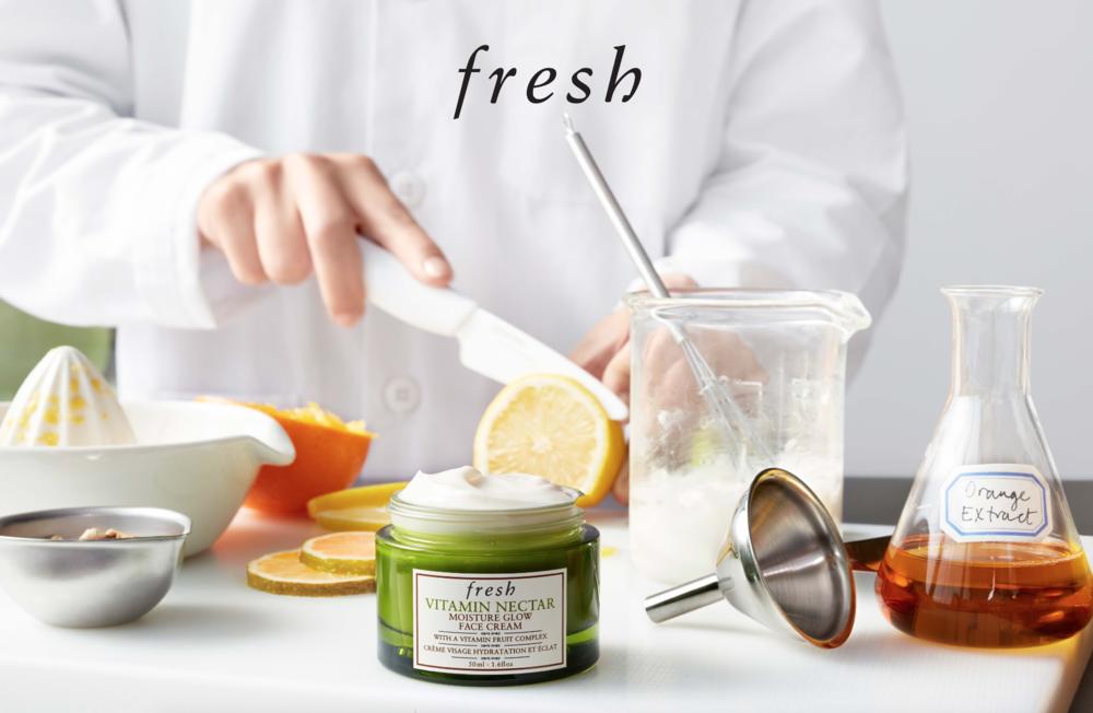 ผลการค้นหารูปภาพสำหรับ Fresh Vitamin Nectar Vibrancy moisture glow Face Cream