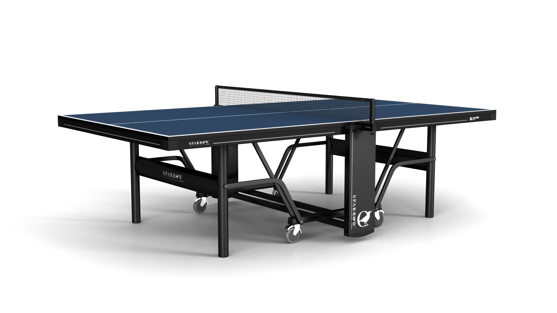 The Sparrow U2013 SLPro Indoor Blue U2014 Gilbert Table Tennis Center | Los Angeles  | Ping Pong | Tables Equipment Pro Shop Lessons U0026 Instruction