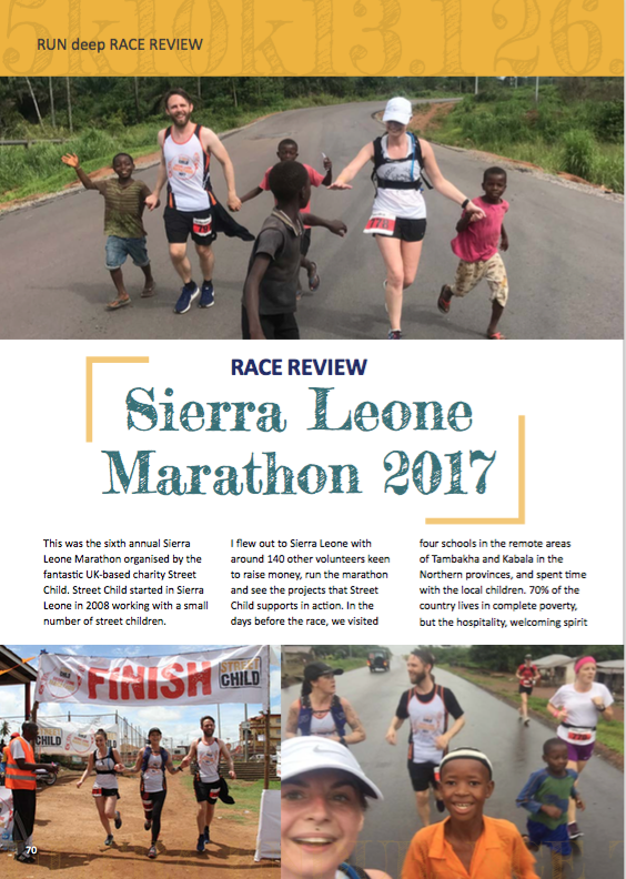 Run Deep, Issue 1, Sept 2017
