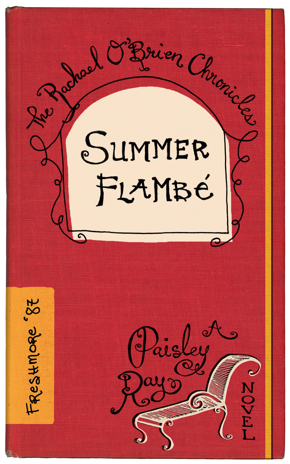Summer Flambe mystery book