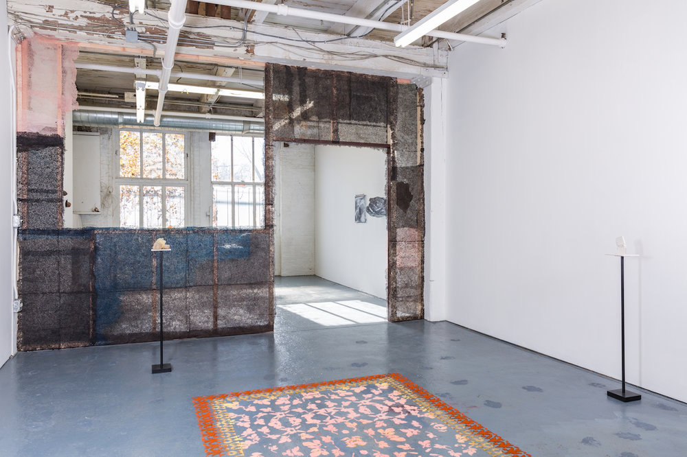 Installation view,  The Particular Poetics of Things