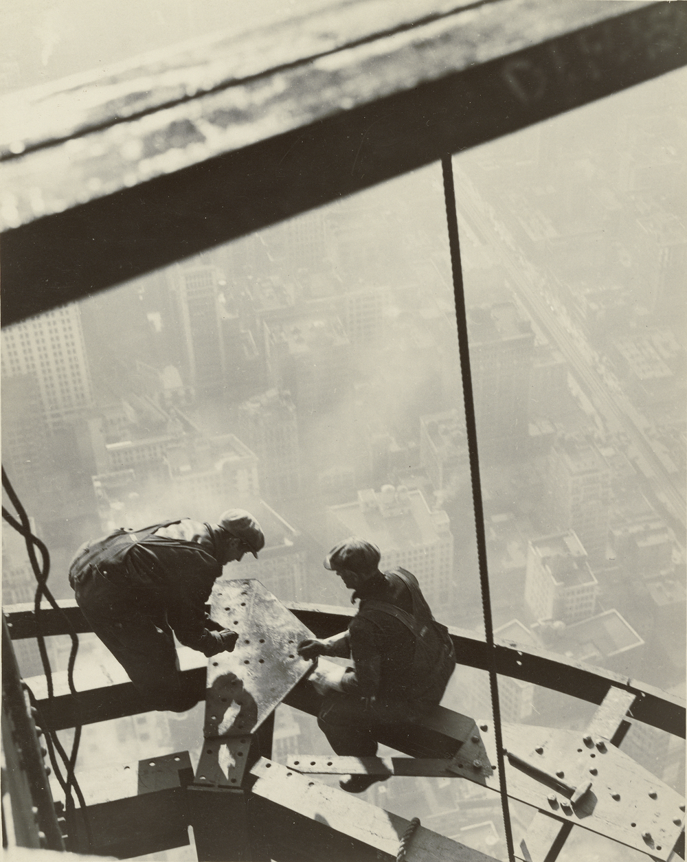 Lewis Hine, Empire State Building, 1931