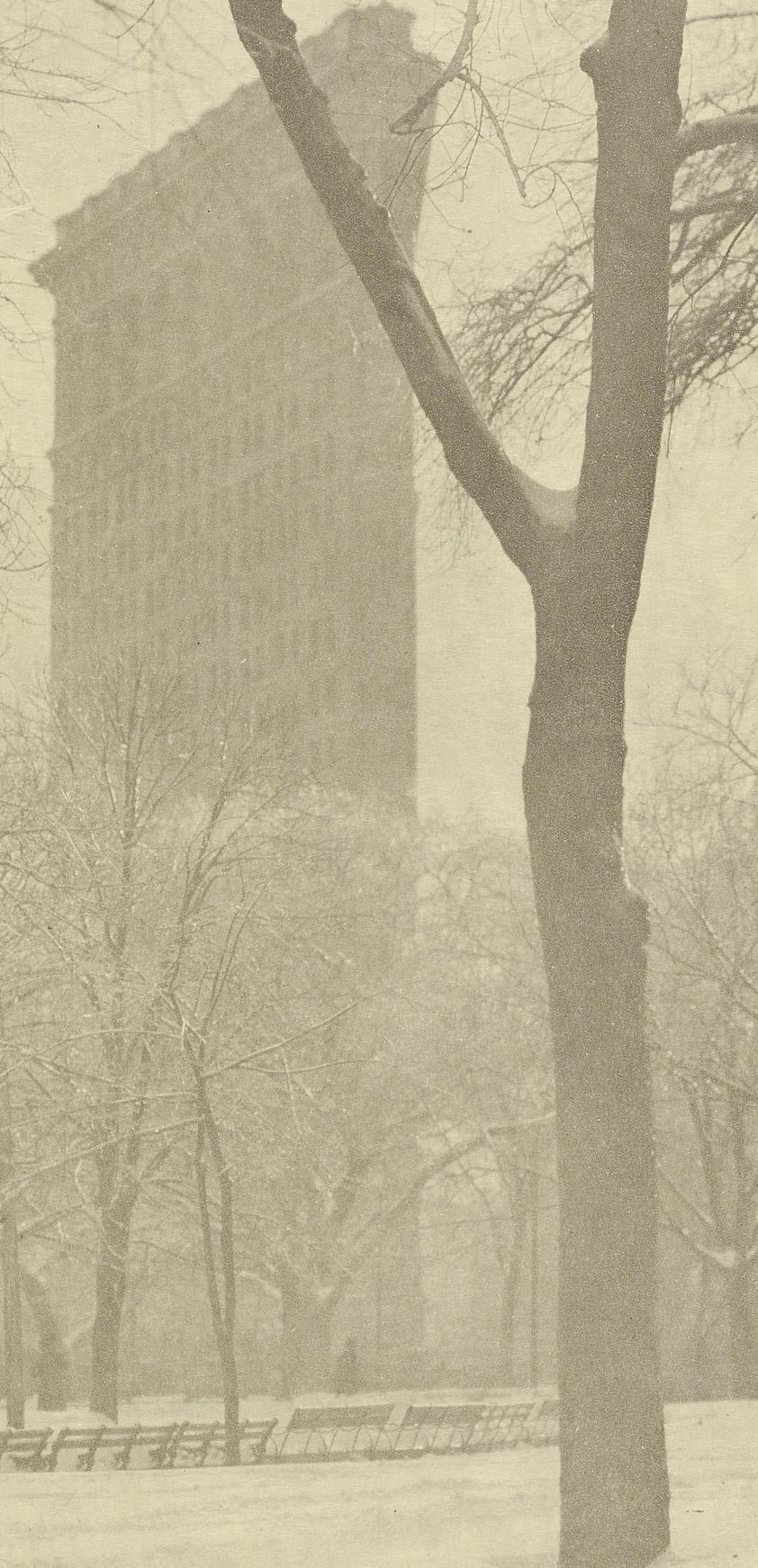 Alfred Stieglitz,  Flatiron Building , 1903