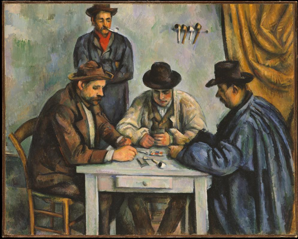 Cezanne, Card Players, 1893.jpeg