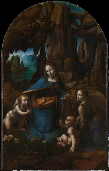 Leonardo, Virgin of the Rocks, 1505.jpeg