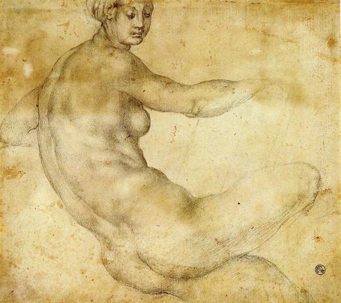 Pontormo, Female Nude, 16th C.jpeg