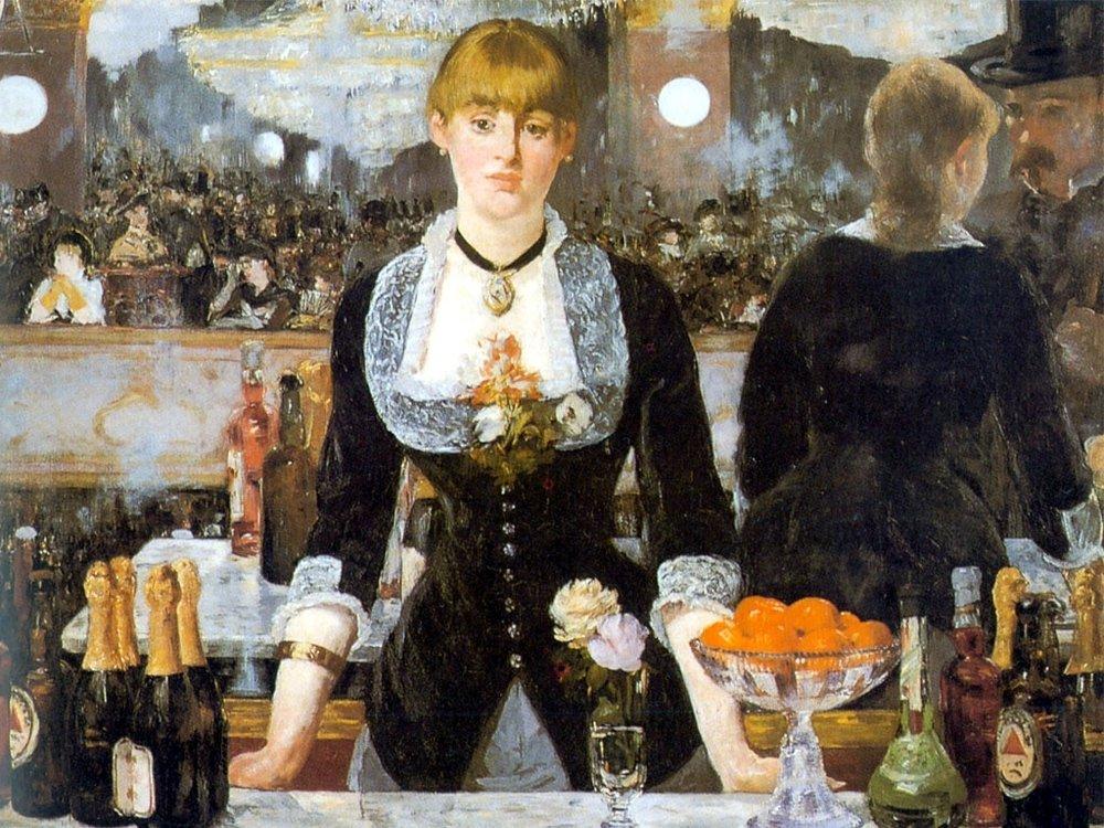 Edouard Manet, A Bar at the Folies-Bergere, 1882.jpeg