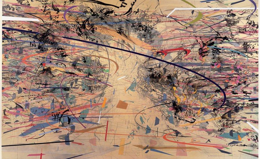 Julie Mehretu, Dispersion, 2002.jpg