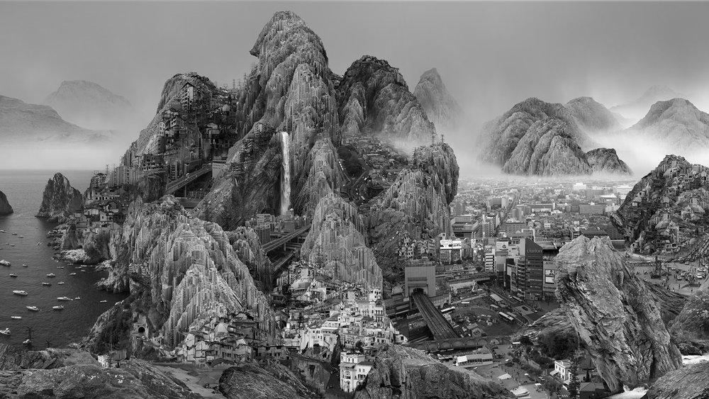 Yang Yongliang, Endless Streams, 2017.jpg