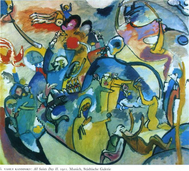 Wasily Kandinsky, All Saints Day II, 1911.jpeg