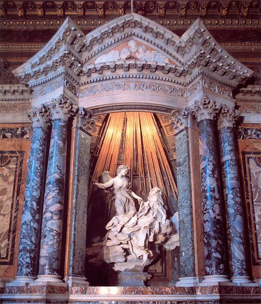 Gian Lorenzo Bernini, The Ecstasy of St. Teresa, 1647-52.jpeg