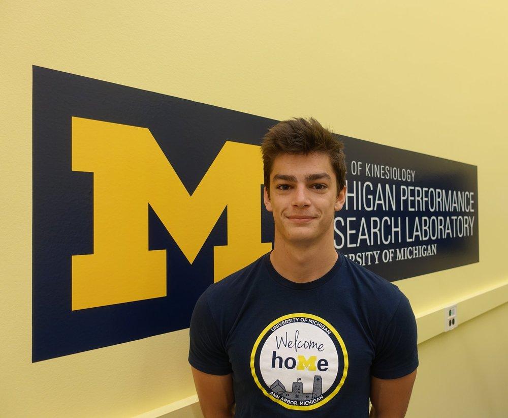 Freddie Bauer   Undergraduate Research Assistant