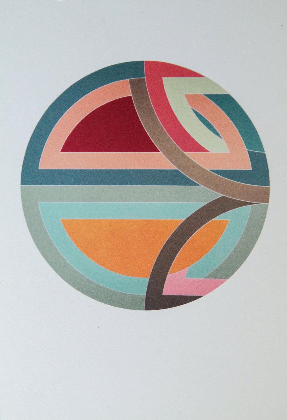 Frank Stella |Sinjerli Variation I