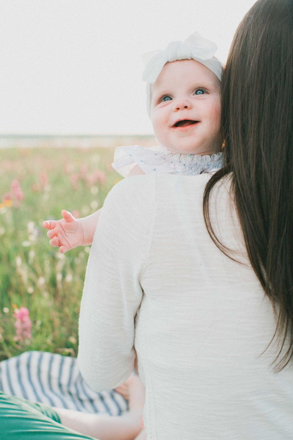 Cora Six Month Session, Milestone session Fort Worth, Fort Worth family photographer, Fort Worth wildflower family photos, Fort Worth bluebonnet family photos, Fort Worth natural light photographer, Fort Worth film photographer, Fort Worth fine art photographer, Fort Worth lifestyle photographer, Dallas bluebonnet family photos, Dallas natural light photographer, Dallas film photographer, Dallas lifestyle photographer