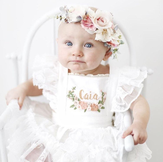 Mason and Harlow - flower crowns for babies, mommas, and brides