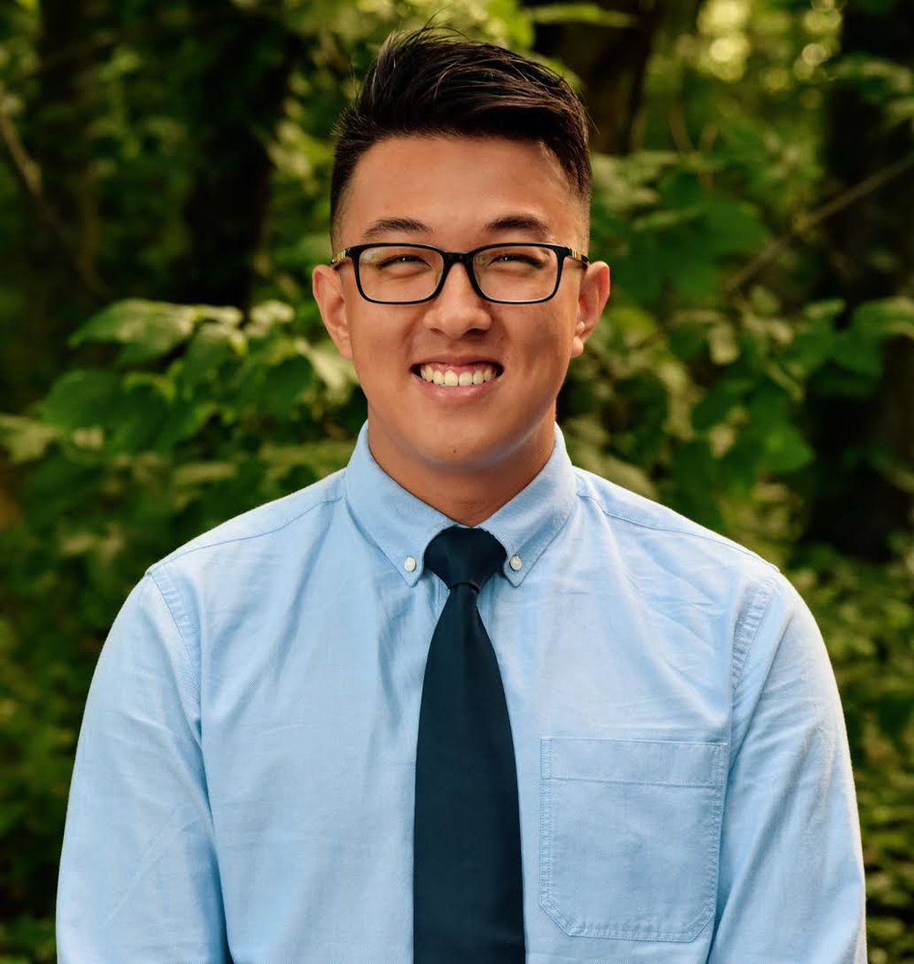 Paul Seo, Senior RA of Section 1A in Keough