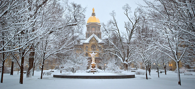 Our winter fortress, the Golden Dome.