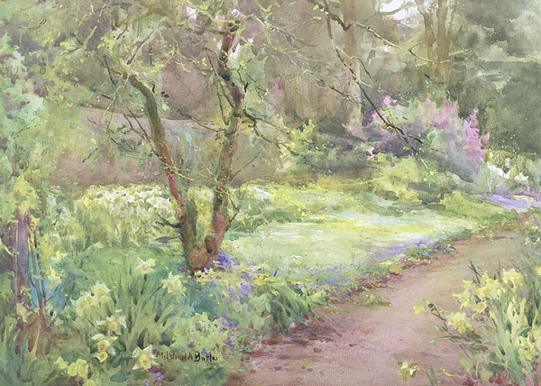 The Garden Path by Mildred Anne Butler (1858 - 1941)