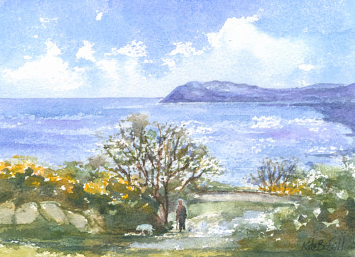 Killiney Hill Walk, Spring