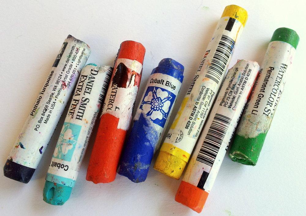 Daniel Smith Watercolour Pigment in a stick