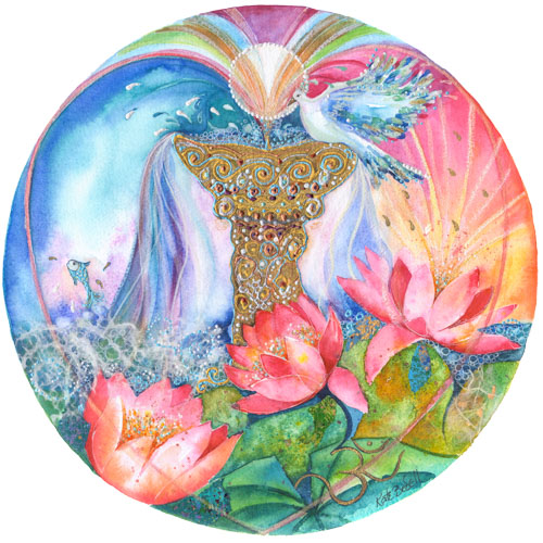 The Fountain Of Love Mandala — KATE BEDELL