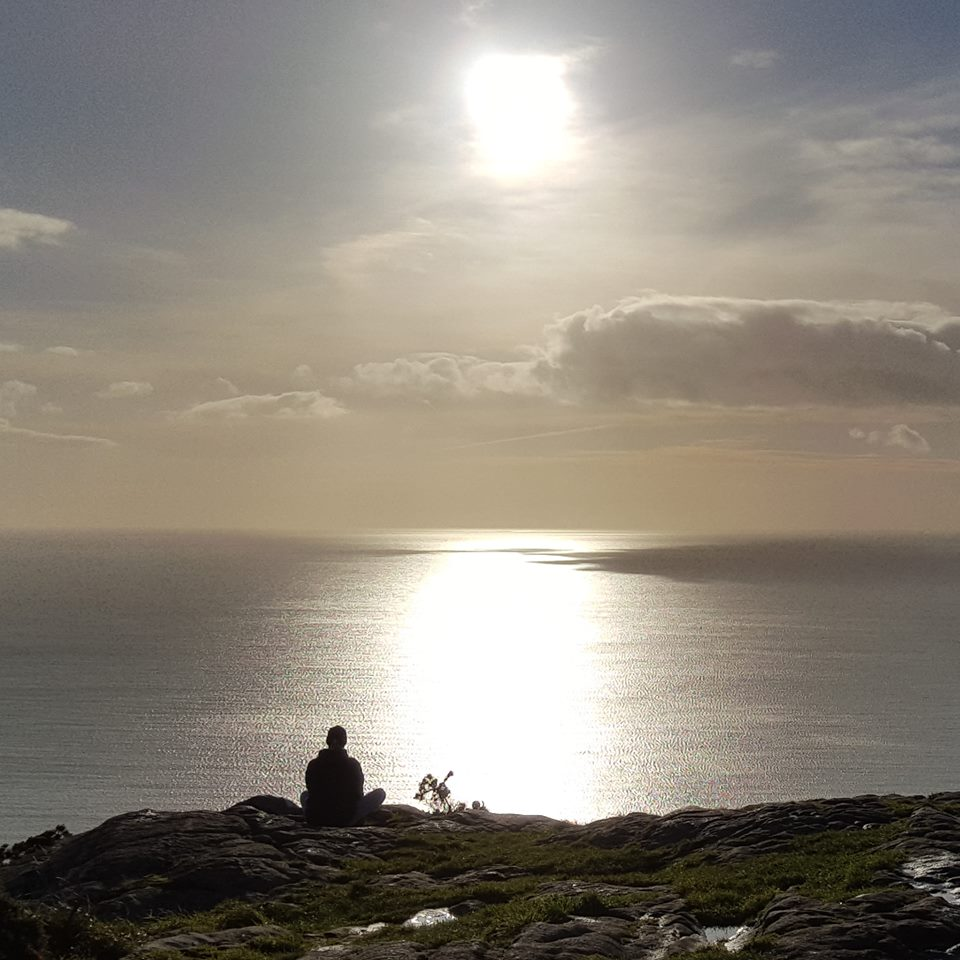 Meditating on Killiney Hill Kate Bedell Artist.jpg