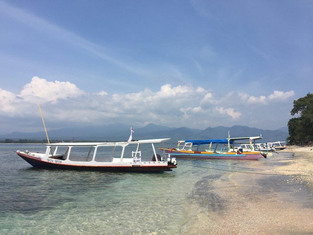 Crystal clear water of Uluwatu, Bali