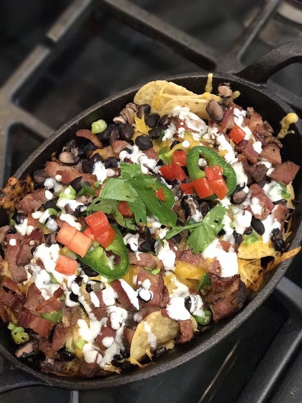 Smoky Duck Nachos -