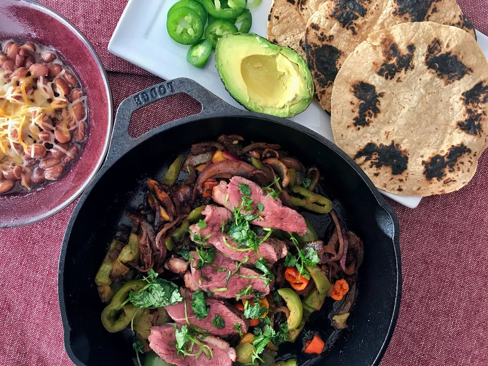 Moulard Duck Breast Fajitas