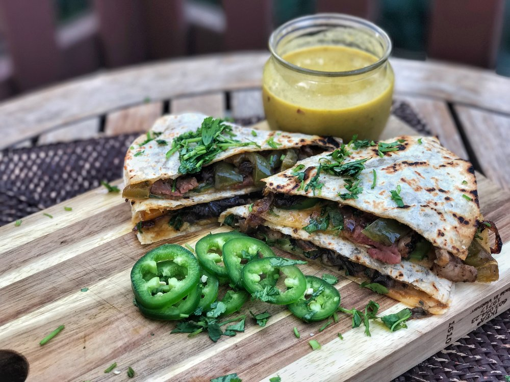 Duck Quesadillas -