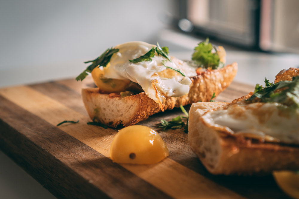 Duck Fat Egg Sandwich -