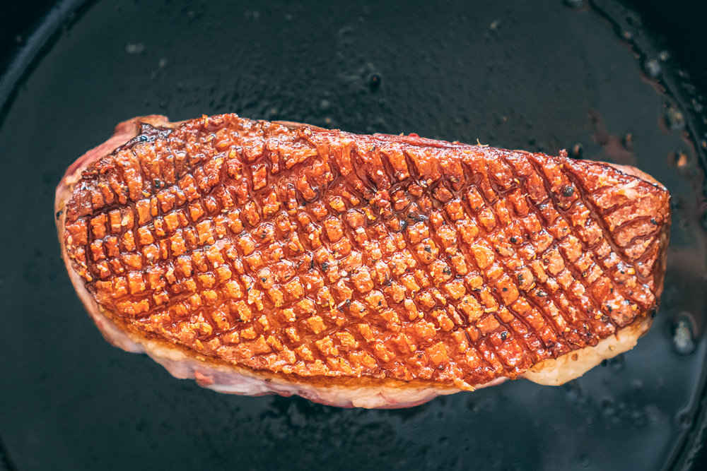 How to Pan Sear - Moulard Duck Breast