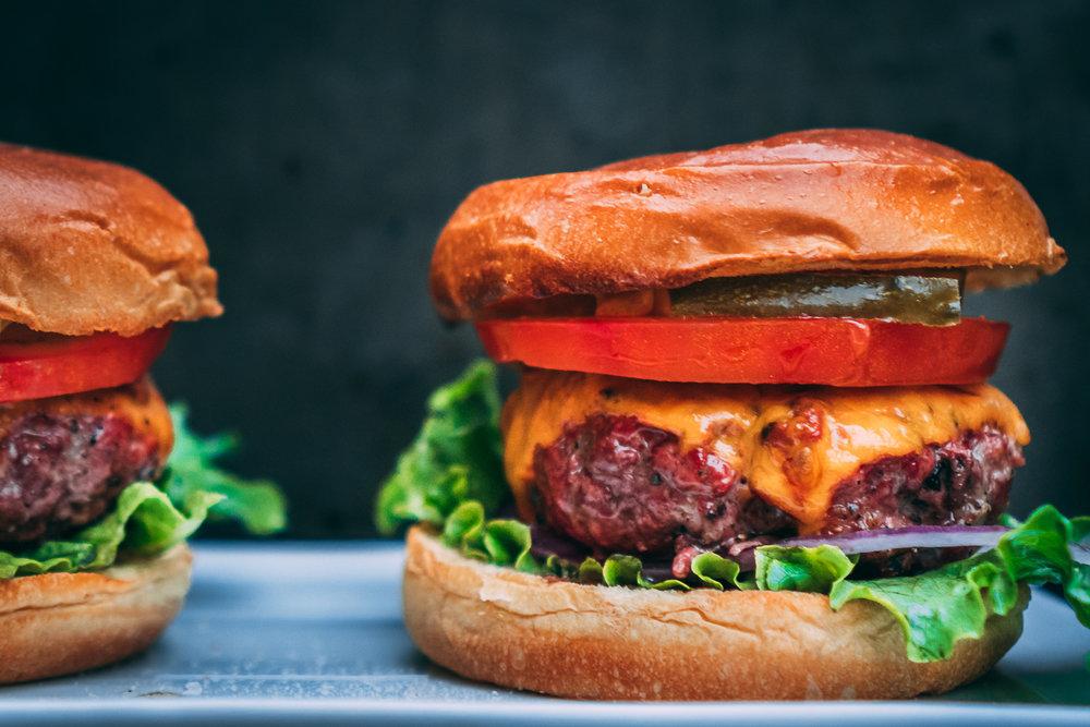 Moulard Duck Breast Cheese Burger