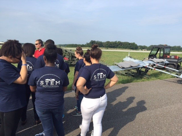 HUNTSVILLE, AL (WAFF) -An unmanned aircraft is bringing Redstone and the students in the Tennessee Valley together. Students in the STEM Summer Institute program were taken to the Arsenal Friday morning.