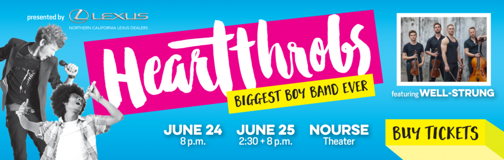 """faa68f28558 Tickets are on sale now for our summer concert – """"Heartthrobs  Biggest Boy  Band Ever"""" – June 24 and 25"""