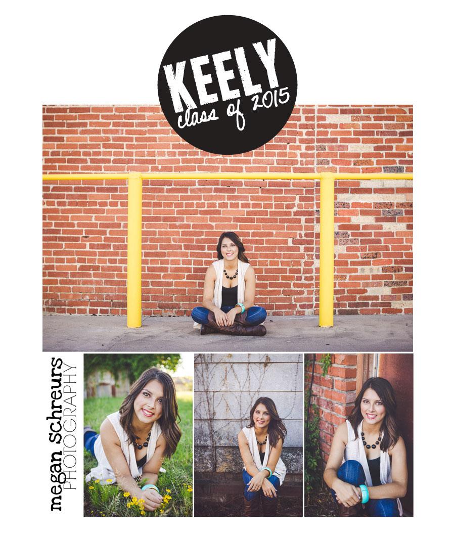 Keely  Hugo OK Senior Photography