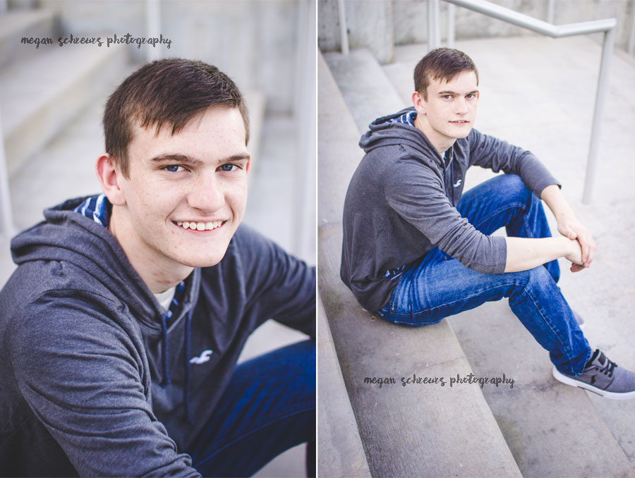 Hugo OK Senior Photography