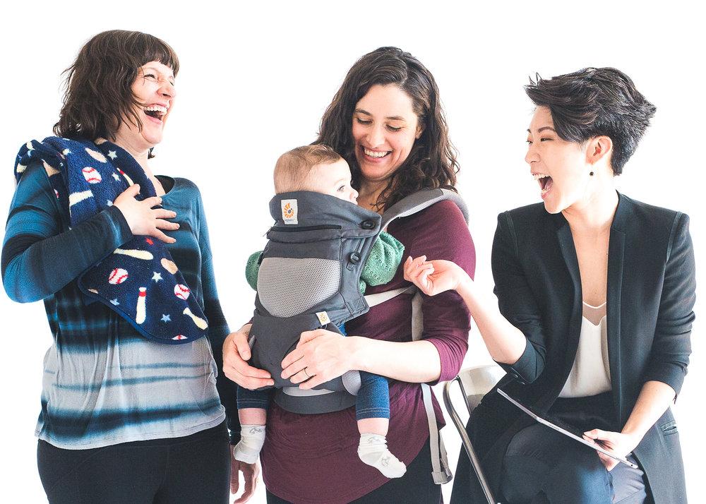 Actors: Katie Consamus*,   Taous Claire Khazem*, & Audrey Park* | Photo by Woodford Sisters Photography