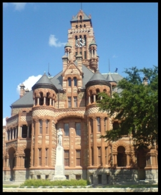 Ellis County Texas Court House