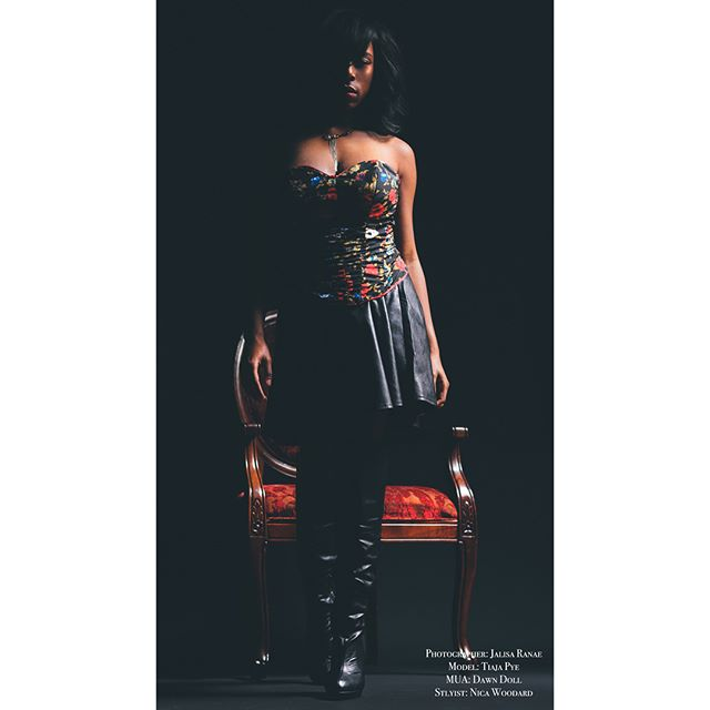 📸 @jalisaranae  Model: @sweetiepye_  Stylist: @nicawoodardstyling  MUA: @dawndoll1 . . Necklace: @3rdharmonydesigns  Corset: @mystiikstyles . . #nicawoodardstyling #styledbynicawoodard #fashionstylist #nashvillefashion #blackgirlmagic #stylist #nashville #lifeofastylist #stylistlife
