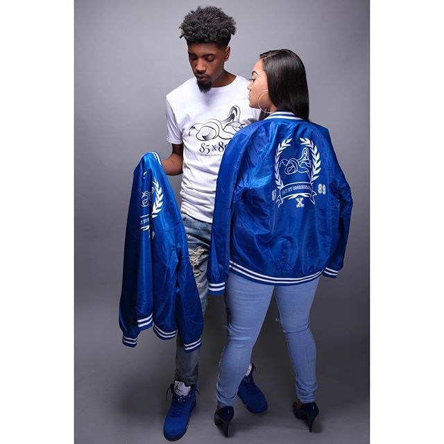 New collection By @85x89 😍 . . #nicawoodardstyling #fashionstylist #styledbynicawoodard . . #Repost 🔵85x89 VINTAGE VARSITY COLLECTION  Available 2/10 . Models @tajhia_ann  @officiallucky__  Photographer @jonathansnorten  Stylist @nicawoodardstyling . . #flybycoordination #85x89 #sneakerapparel #sneakerhead #sneakerheads #newwave #spring #varsityjacket #igsneakercommunity #wdywt #ootd #instafashion #instagood #instastyle #menswear #mensfashion #nashville #murfreesboro #tees #teesforsneakers #tshirts #royals #entrepreneur #smallbusiness