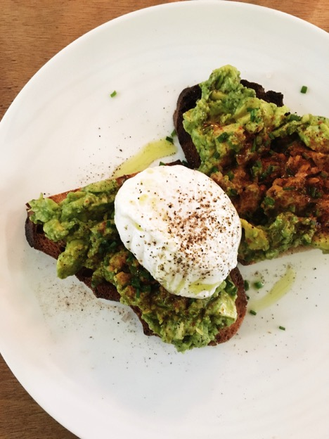 fragments avocado toast